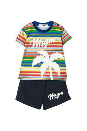 Tuta a righe multicolor MSGM kids MSGM KIDS | 42 | 024005200