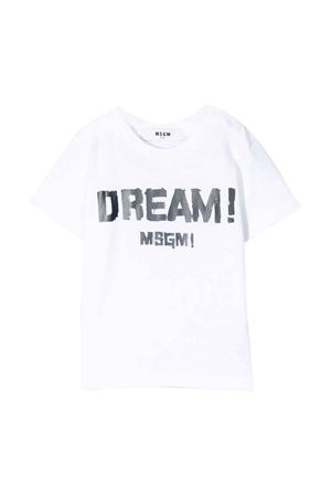 T-shirt bianca MSGM kids MSGM KIDS | 8 | 024006001