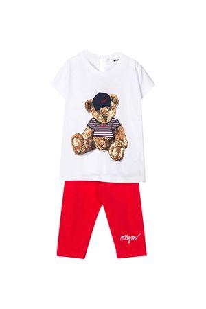 Completo bianco MSGM kids neonata MSGM KIDS | 42 | 024162001/06