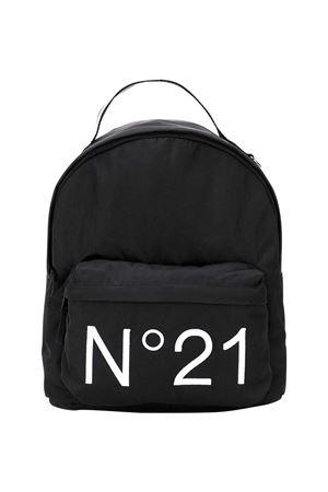 Black backpack with logo N21 kids N°21 KIDS | 31 | N2148BN00760N900