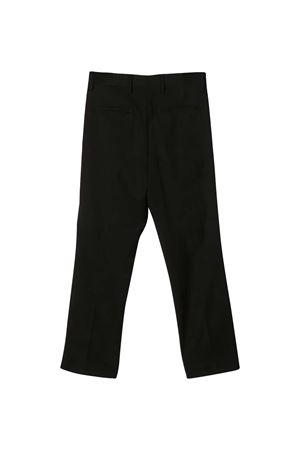 Pantalone teen nero con bande laterali N21 kids N°21 KIDS | 9 | N2148MN00670N900T