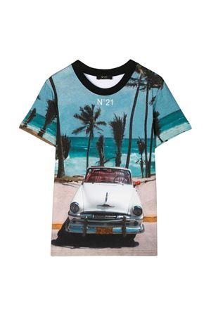 Multicolor teen t-shirt with press N21 kids N°21 KIDS | 8 | N21496N00800N100T