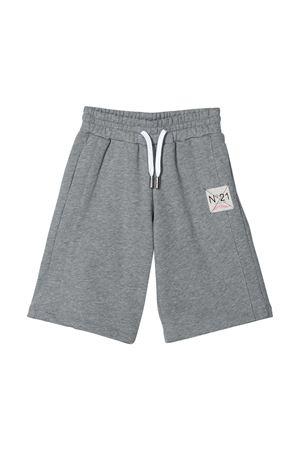 Grey shorts with logo N21 kids N°21 KIDS | 30 | N2149NN00060N901