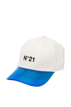 White and blue hat with logo N21 kids N°21 KIDS | 75988881 | N214A7N00720N101