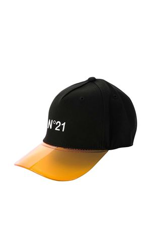 Black and yellow hat with logo N21 kids N°21 KIDS | 75988881 | N214A7N00720N900