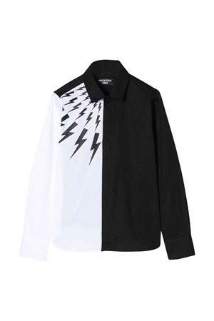 Color-block shirt Neil Barrett kids  NEIL BARRETT KIDS | 5032334 | 024218001/01