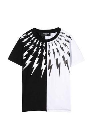 T-shirt color-block Neil Barrett kids NEIL BARRETT KIDS | 8 | 024219110/09