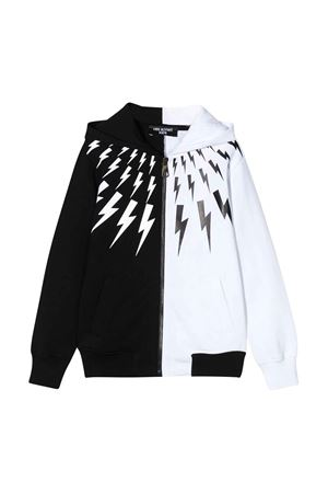 Color-block sweatshirt Neil Barrett kids  NEIL BARRETT KIDS | -108764232 | 024220110/09