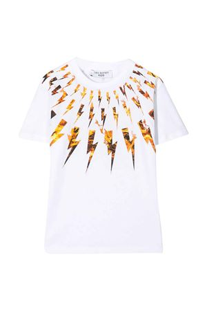 T-shirt bianca Neil Barrett kids NEIL BARRETT KIDS | 8 | 024278001