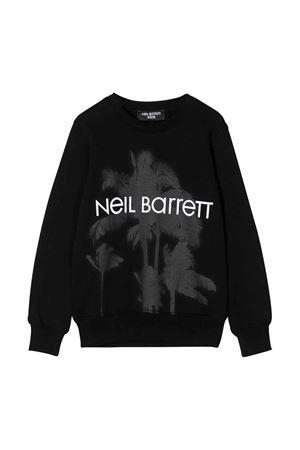 Black sweatshirt Neil Barrett kids teen  NEIL BARRETT KIDS   -108764232   024297110T