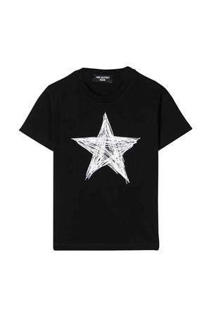 T-shirt nera Neil Barrett kids teen NEIL BARRETT KIDS | 8 | 024402110T