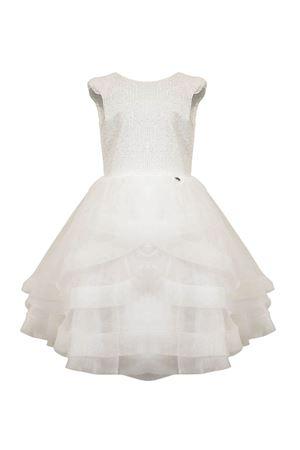 Teen cream sequined tulle dress Nunzia Corinna Nunzia Corinna | 11 | 2014397T647020T