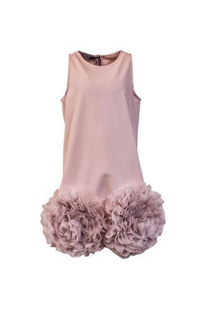 Nunzia Corinna heavy pink bell-shaped crepe dress Nunzia Corinna | 11 | 2014413T646483