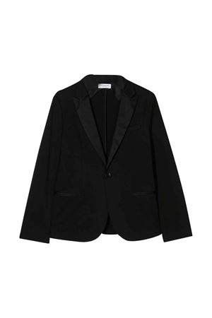 Black teen jacket with rear split Paolo Pecora kids Paolo Pecora kids | 3 | PP2129NEROT