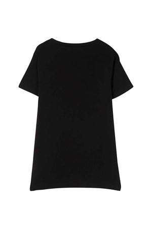 Black teen t-shirt with pocket Paolo Pecora kids Paolo Pecora kids | 8 | PP2158NEROT