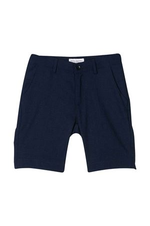 Blue tailored bermuda shorts Paolo Pecora kids Paolo Pecora kids | 30 | PP2293BLU