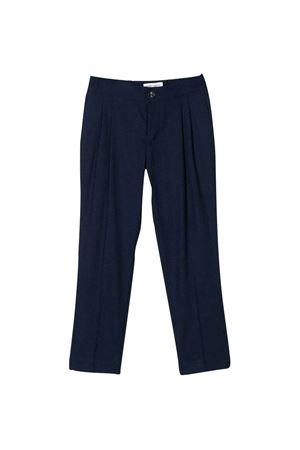 Blue straight cut teen trousers Paolo Pecora kids Paolo Pecora kids | 9 | PP2294BLUT