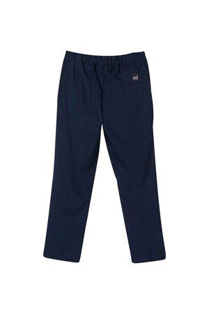 Blue straight cut trousers Paolo Pecora kids Paolo Pecora kids   9   PP2294BLU