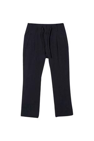 Blue straight cut trousers Paolo Pecora kids Paolo Pecora kids | 9 | PP2309BLU