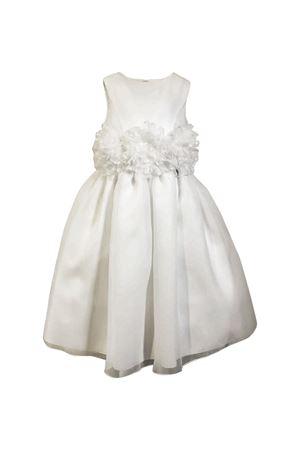 Cream teen double organza soft dress Petit Petit | 11 | 2014389T581120T