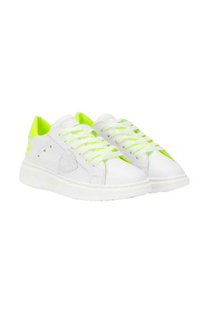 White sneakers Philippe Model kids teen PHILIPPE MODEL KIDS | 12 | BPL0VF2T