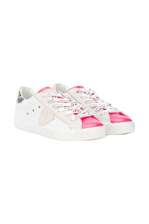 White sneakers Philippe Model kids teen  PHILIPPE MODEL KIDS | 12 | CLL0VP1T