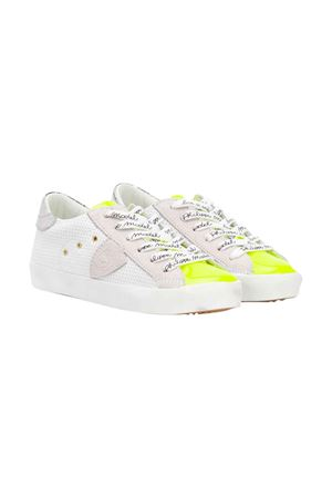 White sneakers Philippe Model kids teen  PHILIPPE MODEL KIDS | 12 | CLL0VP2T