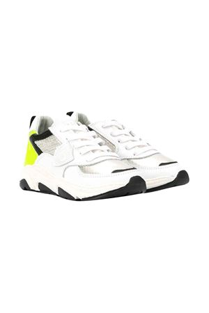 White teen sneakers with round tip Philippe Model kids PHILIPPE MODEL KIDS | 12 | EZL0VF2T