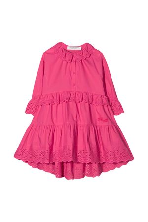 Abito fucsia teen con ruches Philosophy kids PHILOSOPHY KIDS | 11 | PJAB73CA244VH0120095T