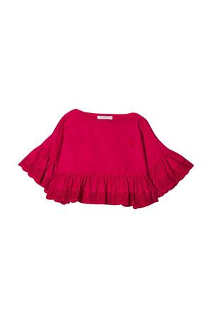 Top rosso con ruches Philosophy kids PHILOSOPHY KIDS | 40 | PJCA38CA244VH0120094