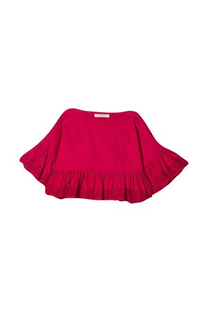 Top rosso teen con ruches Philosophy kids PHILOSOPHY KIDS | 40 | PJCA38CA244VH0120094T