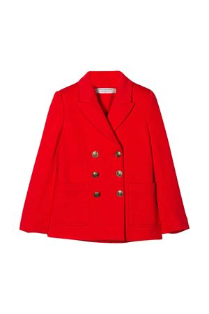 Blazer rosso doppiopetto Philosophy kids PHILOSOPHY KIDS | 3 | PJGC09FE144VH0200114