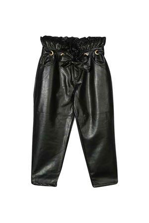 Pantalone nero teeen con vita elasticizzata Philosophy kids PHILOSOPHY KIDS | 9 | PJPA31PE48VH0290136T