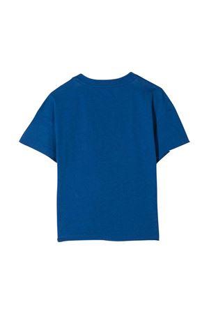 Blue t-shirt with frontal logo Philosophy kids PHILOSOPHY KIDS   8   PJTS28JE138VH0030035