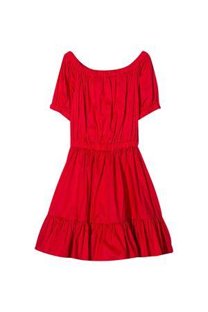 Red Piccola Ludo dress  Piccola Ludo | 11 | BF5WB024TES038250
