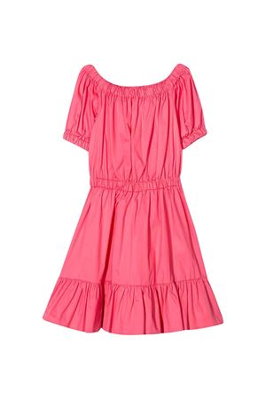 Coral pink dress Piccola Ludo  Piccola Ludo | 11 | BF5WB024TES0382C11