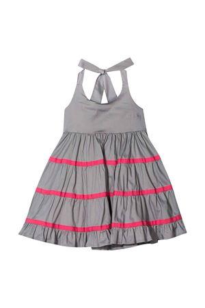 Piccola Ludo gray dress Piccola Ludo | 11 | BF5WB042TES0382N11