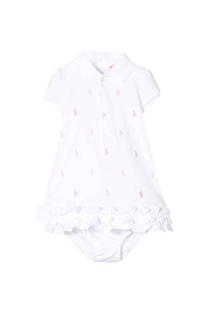 Ralph Lauren kids white baby dress  RALPH LAUREN KIDS | 75988882 | 310676237002