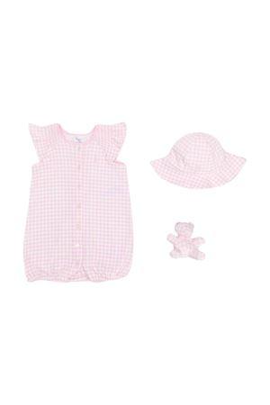 Set tre pezzi rosa a quadretti Ralph Lauren kids RALPH LAUREN KIDS | 75988882 | 310790379001