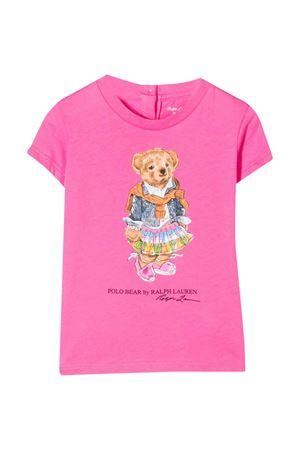 T-shirt fucsia Ralph Lauren kids RALPH LAUREN KIDS | 8 | 310790408001