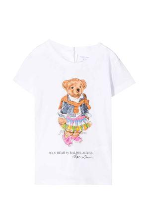 T-shirt bianca Ralph Lauren kids RALPH LAUREN KIDS | 8 | 310790408003
