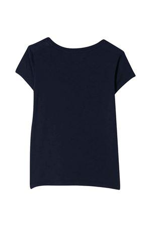 Blue polo shirt with white press Ralph Laurel Kids RALPH LAUREN KIDS | 2 | 312793933003