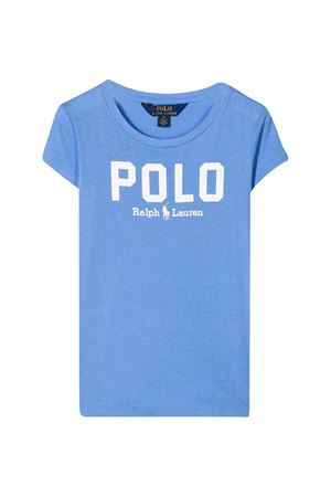 Blue polo shirt with white press Ralph Lauren Kids RALPH LAUREN KIDS | 2 | 312793933006