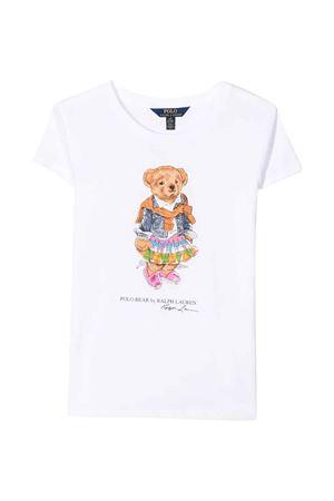 T-shirt bianca teen Ralph Lauren Kids RALPH LAUREN KIDS   8   313790408003T