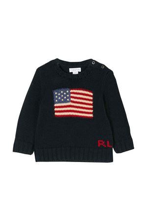 Maglione neonato blu navy Ralph Lauren kids RALPH LAUREN KIDS | 7 | 320668285001