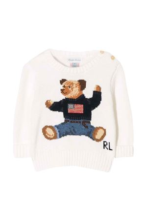 Ralph Lauren kids white baby sweater  RALPH LAUREN KIDS | 7 | 320669571003
