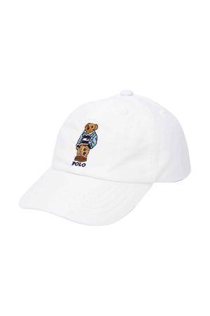 Cappello bianco Ralph Lauren kids RALPH LAUREN KIDS | 75988881 | 320785657001