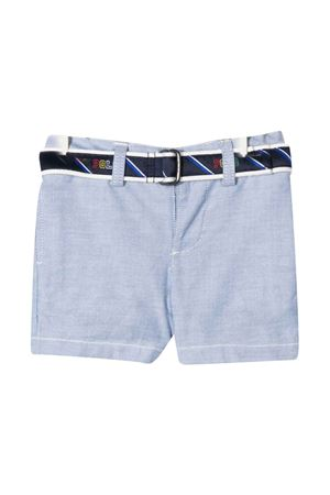 Blue shorts with belt Ralph Lauren Kids RALPH LAUREN KIDS | 30 | 320785719001
