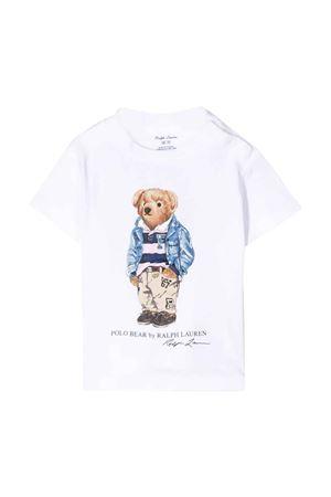 T-shirt bianca Ralph Lauren kids RALPH LAUREN KIDS | 8 | 320785928005