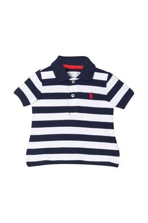 Polo con strisce e colletto blu Ralph Lauren Kids RALPH LAUREN KIDS | 2 | 320786338004